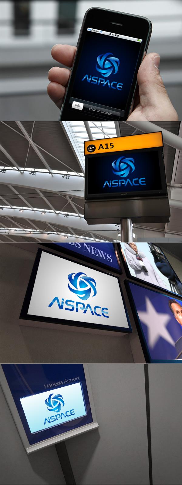 Разработать логотип и фирменный стиль для компании AiSpace фото f_28851b2d8adb0851.png