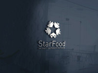 "Логотип для компании ""STARFOOD"" занял 1-е место в конкурсе."