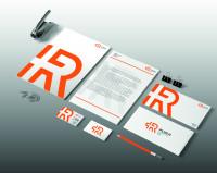 """Фирменный стиль для компании """"+R"""" на основе моего логотипа, занявшего 1-е место в конкурсе."""