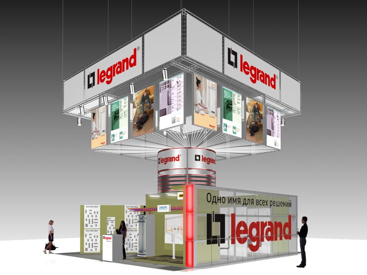 """Стенд """"Legrand"""""""