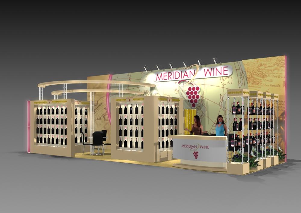 стенд «Meridiane wine»