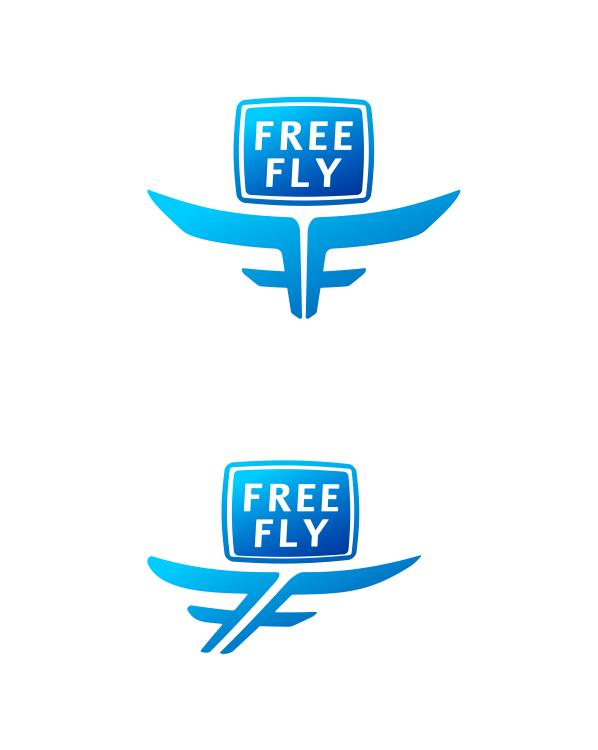 Логотип для общественного интернет-телевидения FreeFly фото f_4f9a1d7da7848.png