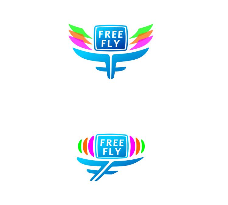 Логотип для общественного интернет-телевидения FreeFly фото f_4f9a41823362f.png