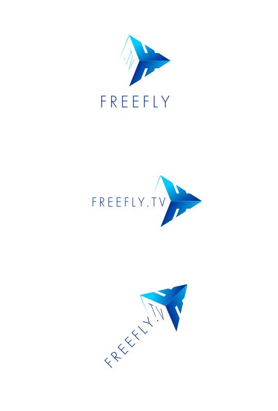 Логотип для общественного интернет-телевидения FreeFly фото f_4fa3df936e925.png