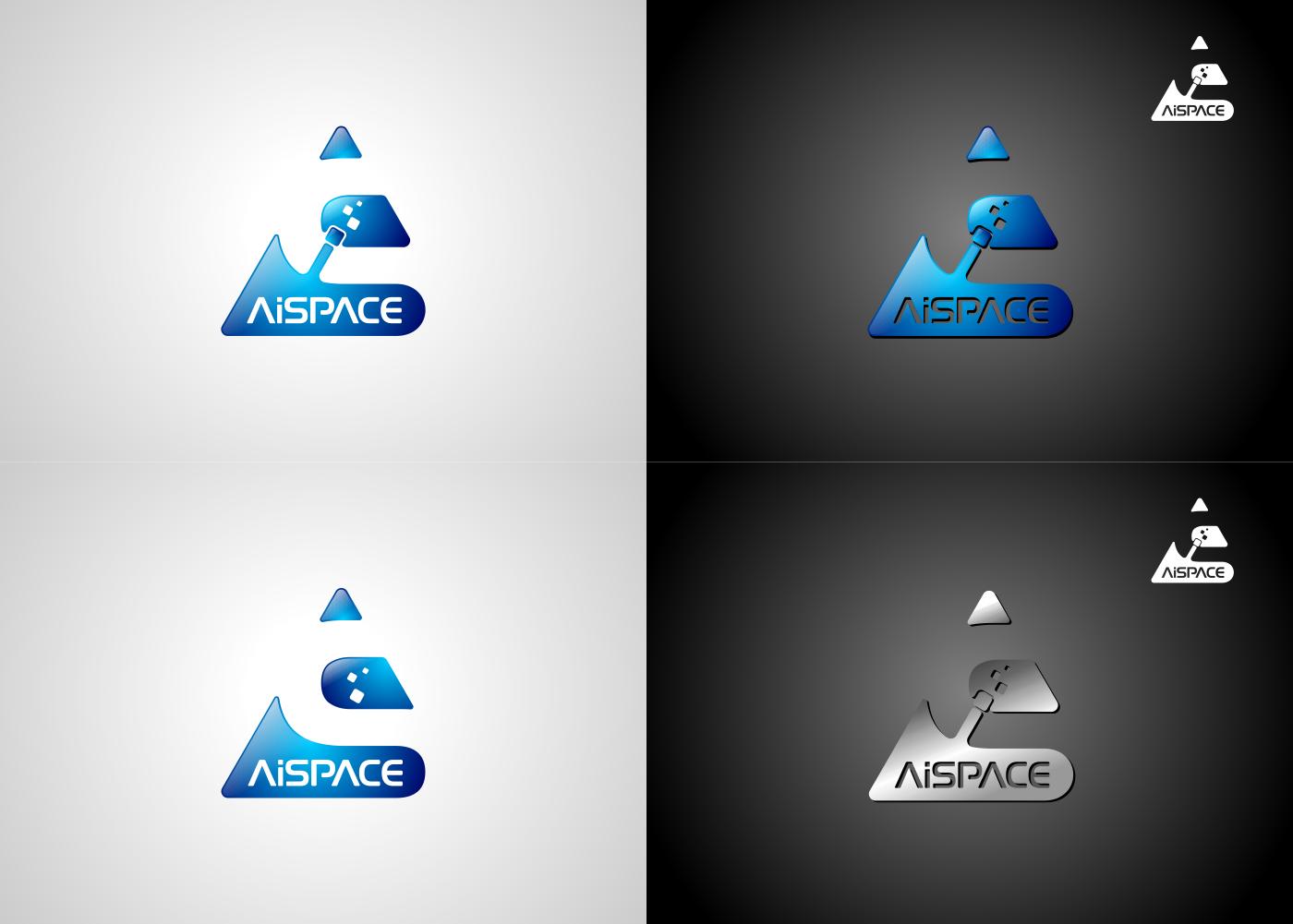 Разработать логотип и фирменный стиль для компании AiSpace фото f_50651af4fd39421d.png