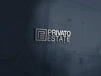 "Логотип для компании ""PRIVATO ESTATE"" занял 1-е место в конкурсе."