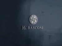 "Логотип для компании ""BASCONI"" занял 1-е место в конкурсе."