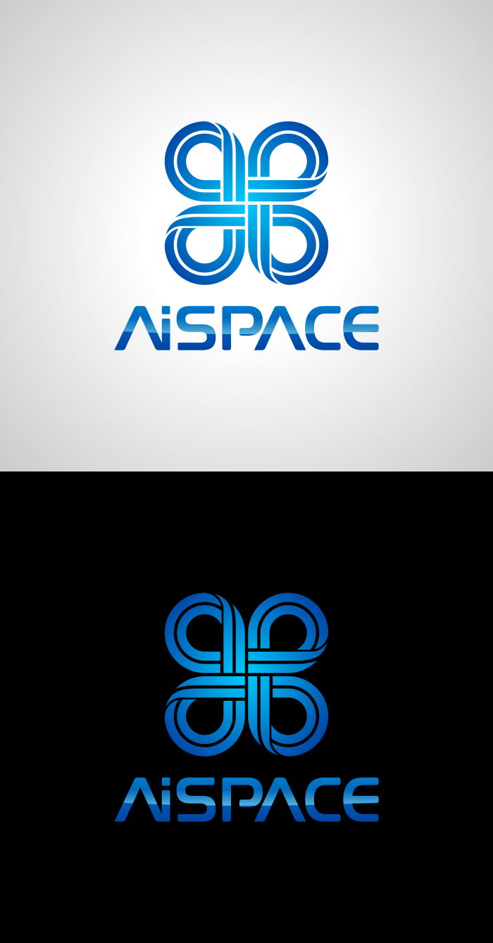 Разработать логотип и фирменный стиль для компании AiSpace фото f_90451b19aa27fe46.png