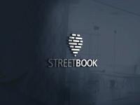 "Логотип для компании ""STREETBOOK"" занял 1-е место в конкурсе."