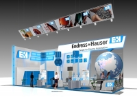 Стенд - Endress+Hauser