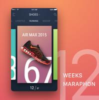 12 weeks Sketch marathon