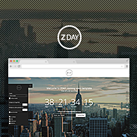 ZDAY - coming soon page