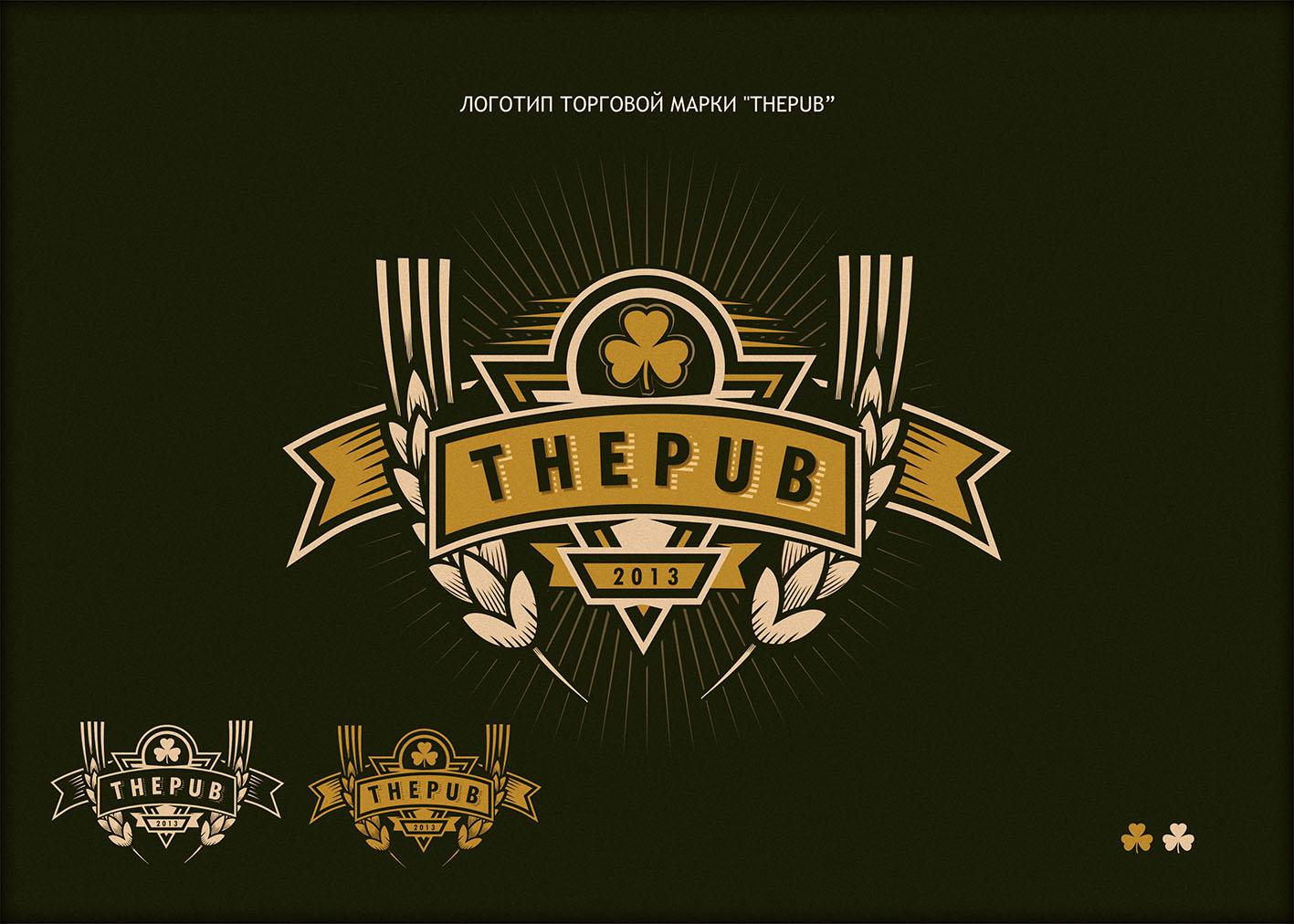 "Разработка логотипа торговой марки ""THEPUB"" фото f_51751eb67a794028.jpg"