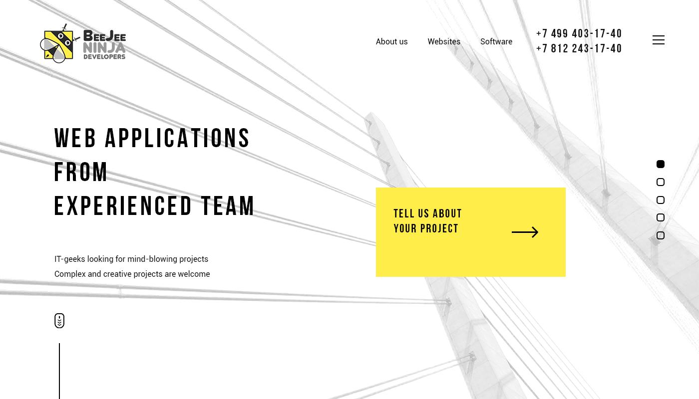 Концепт дизайна сайта в корпоративном стиле для IT компании фото f_21359491d9b72f49.jpg