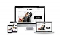 Адаптивный дизайн магазина одежды Mellameh