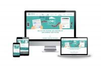 Адаптивный дизайн зарубежного сайта финансовых услуг