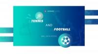 Дизайн Landing Page - с информацией по спортивным событиям