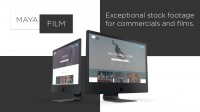 Web design Maya Film - Exceptional stock footage for commercials and films
