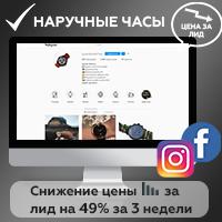 Таргетированная реклама Facebook/Instagram, снижение цены за лид на 49% за 3 недели