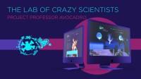 Дизайн сайта развлекательных услуг на ивентах Crazy Lab Show