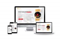 Дизайн горизонтального Landing Page