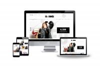 Дизайн интернет-магазина Mellameh (шубы, верхняя одежда)