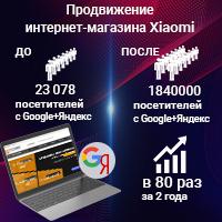 Комплексное продвижение интернет-магазина умной техники - лидер в своей стране