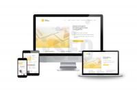 Дизайн инвестиционного портала, формат лендинга