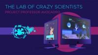 Сайт развлекательных услуг на ивентах Crazy Lab Show - разработка дизайна