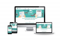 Дизайн зарубежного сайта финансовых услуг, адаптив