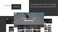Exceptional stock footage for commercials and films web-design