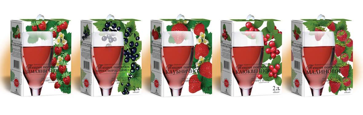 Линейка ягодных вин (Ишим)