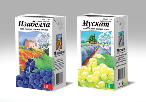 """ООО """"Пищевик"""" линейка виноградных вин"""