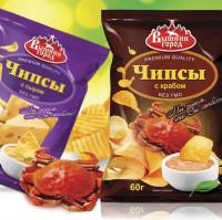 """Компания """"Полинка"""", серия чипсов"""
