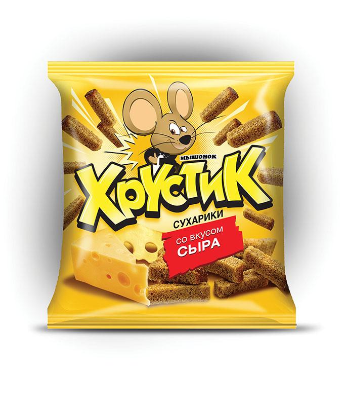 "Сухарики ""Мышонок Хрустик"""