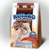 фирма diamix. упаковка для серии наполнителей для кошачьих туалетов