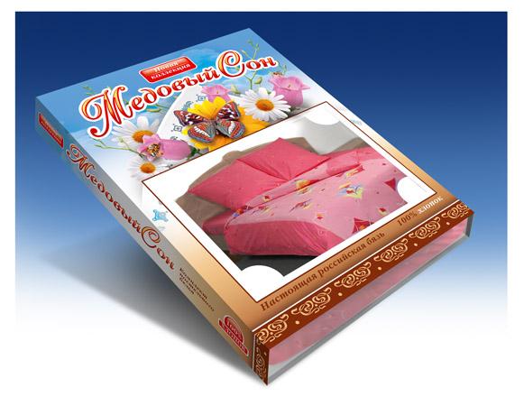 Упаковка постельного белья «Медовый сон»