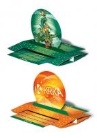 Календарь-трансформер Фармкомпания KRKA