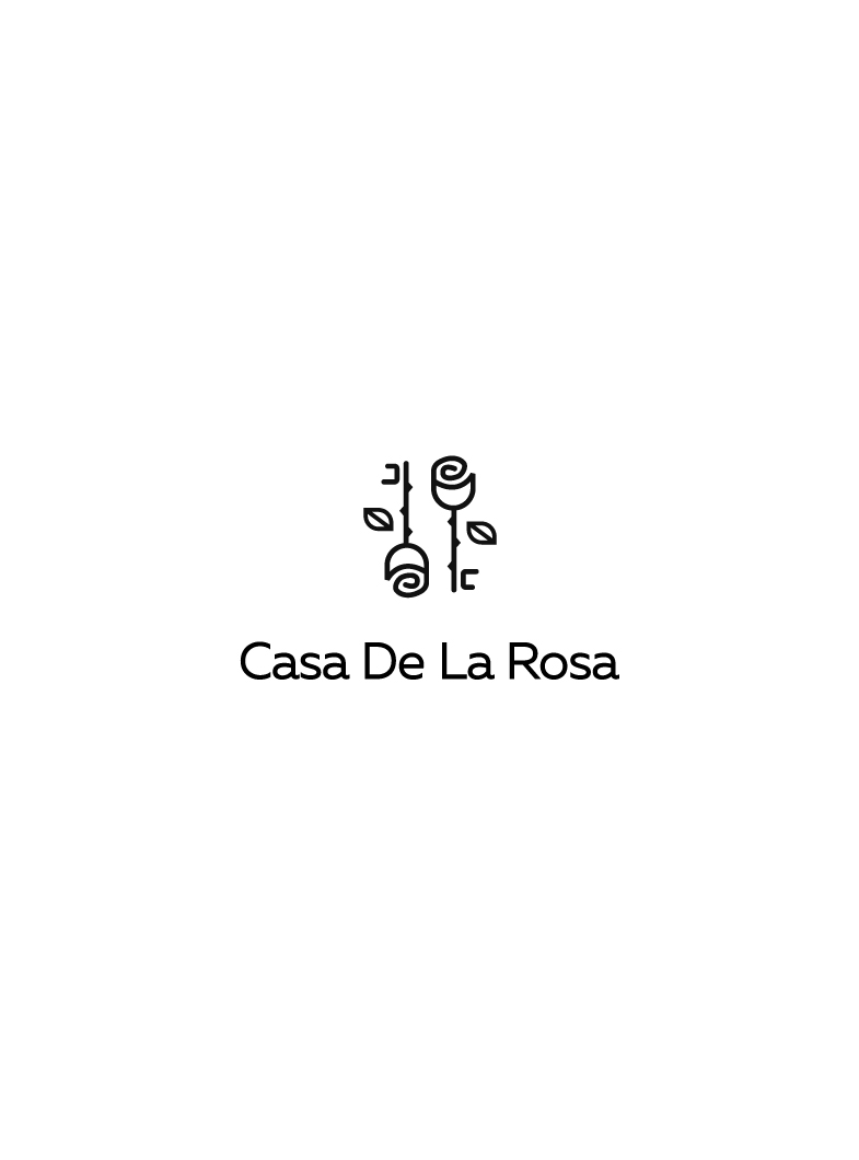 Логотип + Фирменный знак для элитного поселка Casa De La Rosa фото f_4445cd5b201945c4.jpg