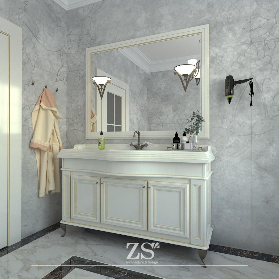 Дизайн проект интерьера частного дома Тюмень