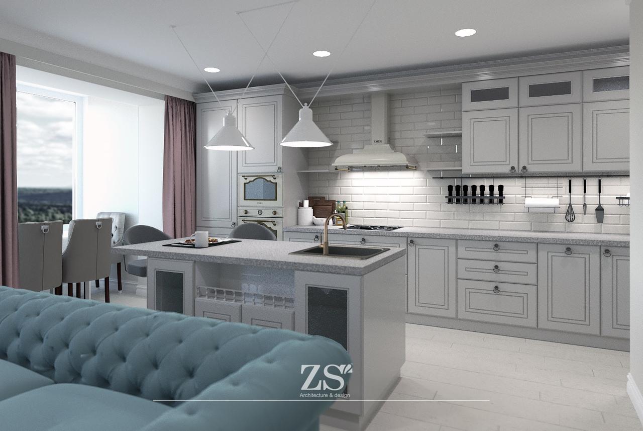 Дизайн проект интерьера квартиры Тюмень