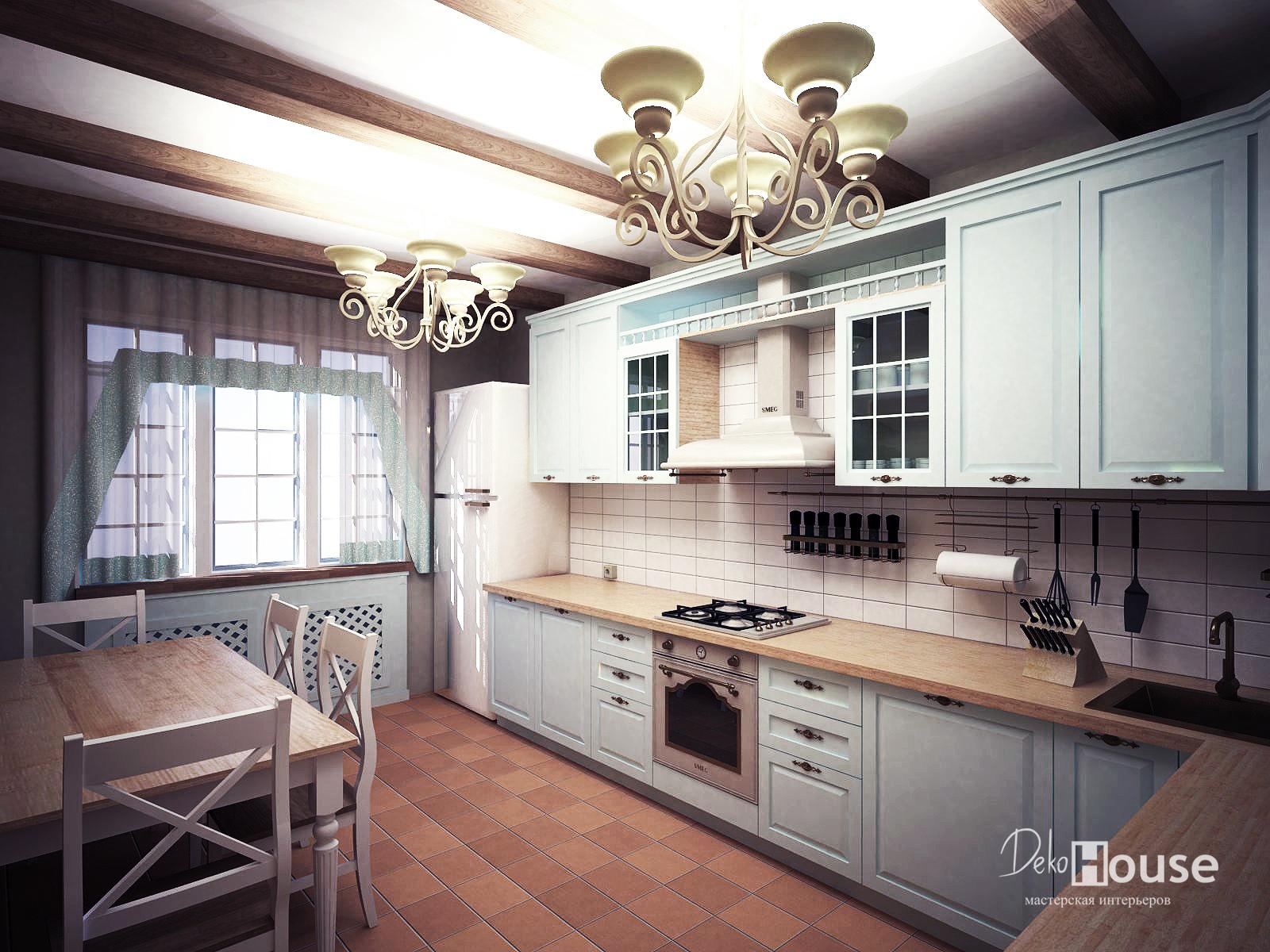 Визуализация кухни Тюмень