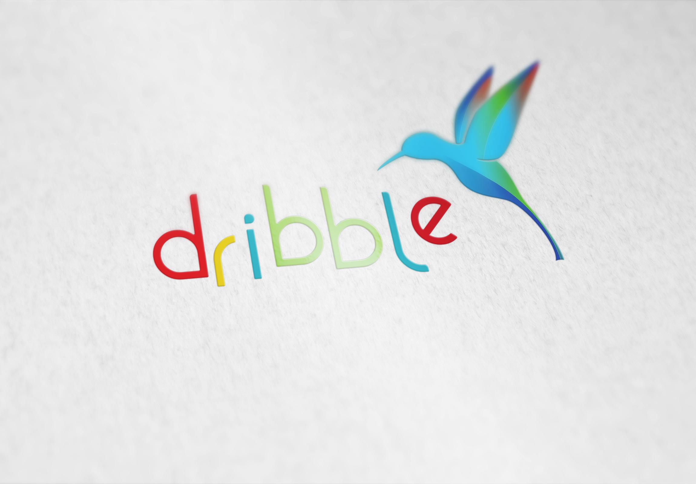 Разработка логотипа для сайта Dribbl.ru фото f_1635a9c07e8d8de2.jpg