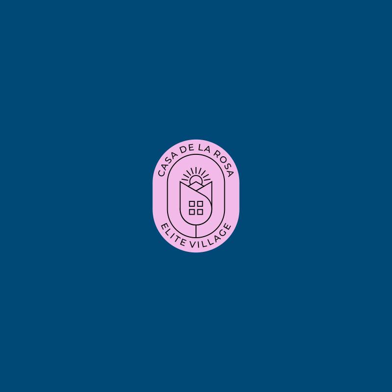 Логотип + Фирменный знак для элитного поселка Casa De La Rosa фото f_2385cd9c7813414a.jpg