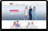 Интернет-магазин медицинской и поварской одежды
