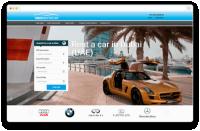 Сайт по аренде авто