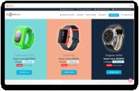 Сайт по продаже умных часов