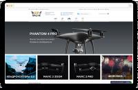 Интернет-магазин квадрокоптеров и гаджетов DJI
