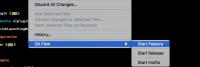 Xcode GitFlow Plugin - Плагин для Xcode