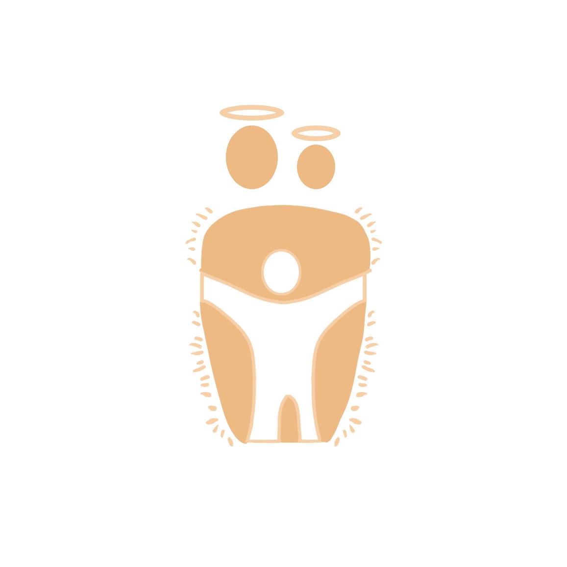 Логотип для крестильной одежды(детской). фото f_9955d4d3c44a19a8.png